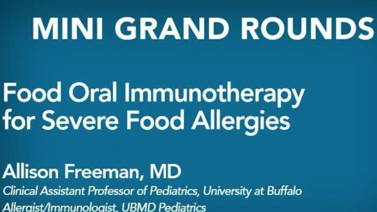 Food Oral Immunotherapy Food Allergies