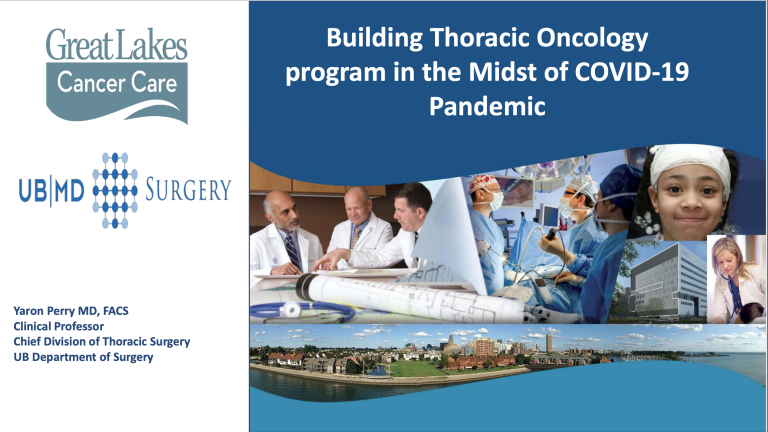 Building a Thoracic Oncology Program in the Midst of the COVID-19 Pandemic