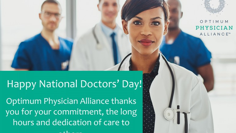 Happy National Doctors' Day!
