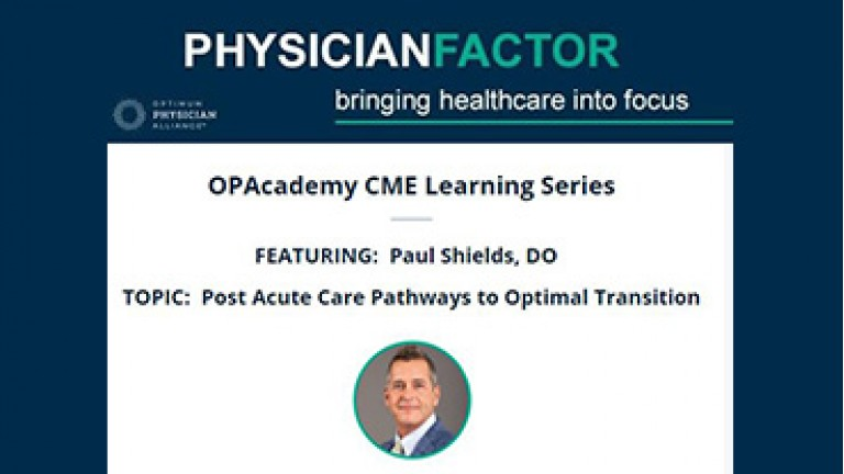 Post Acute Care Pathways to Optimal Transitions