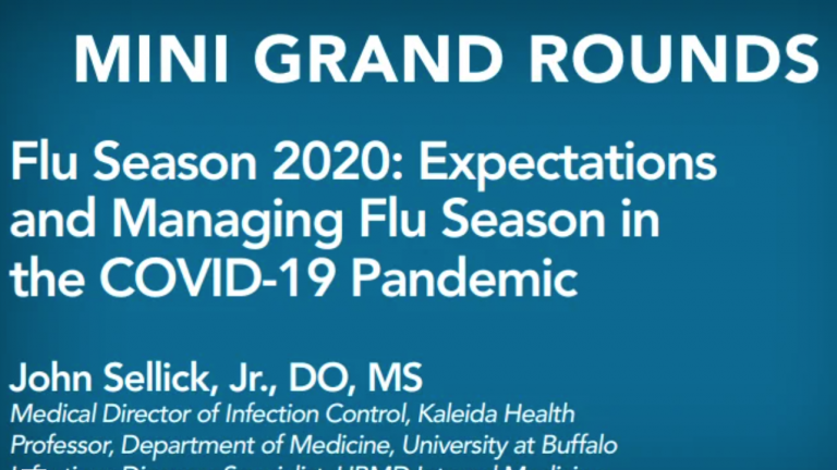 Flu Amid the Pandemic