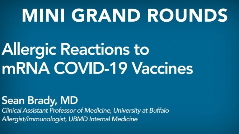 Allergic Reactions to mRNA Covid-19 Vaccines