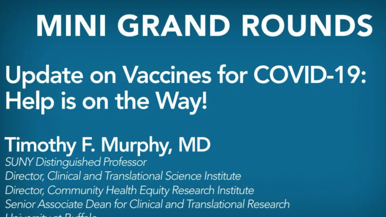 Update on Vaccines for COVID-19: Help is on the Way!